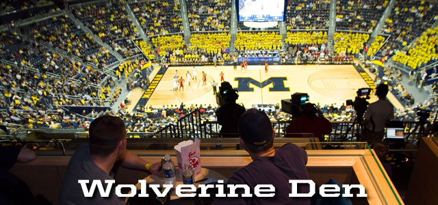 Mens Basketball Specialty Seating University Of Michigan