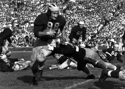 Image result for tom harmon michigan football