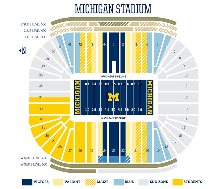 Football single game tickets and ticket packs university of michigan