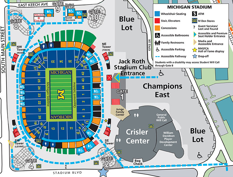 2017 Michigan Stadium Information University of Michigan
