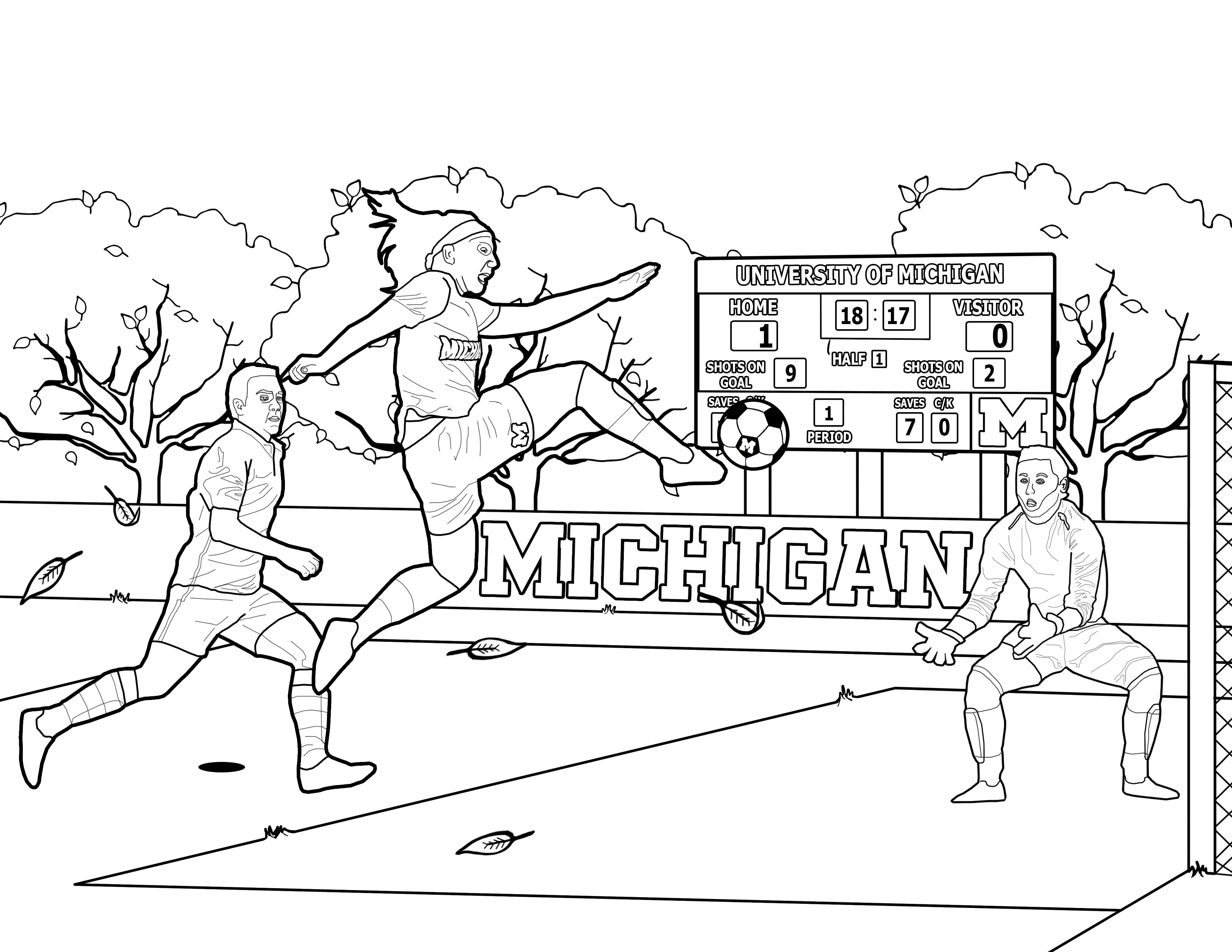 university of michigan official athletic site