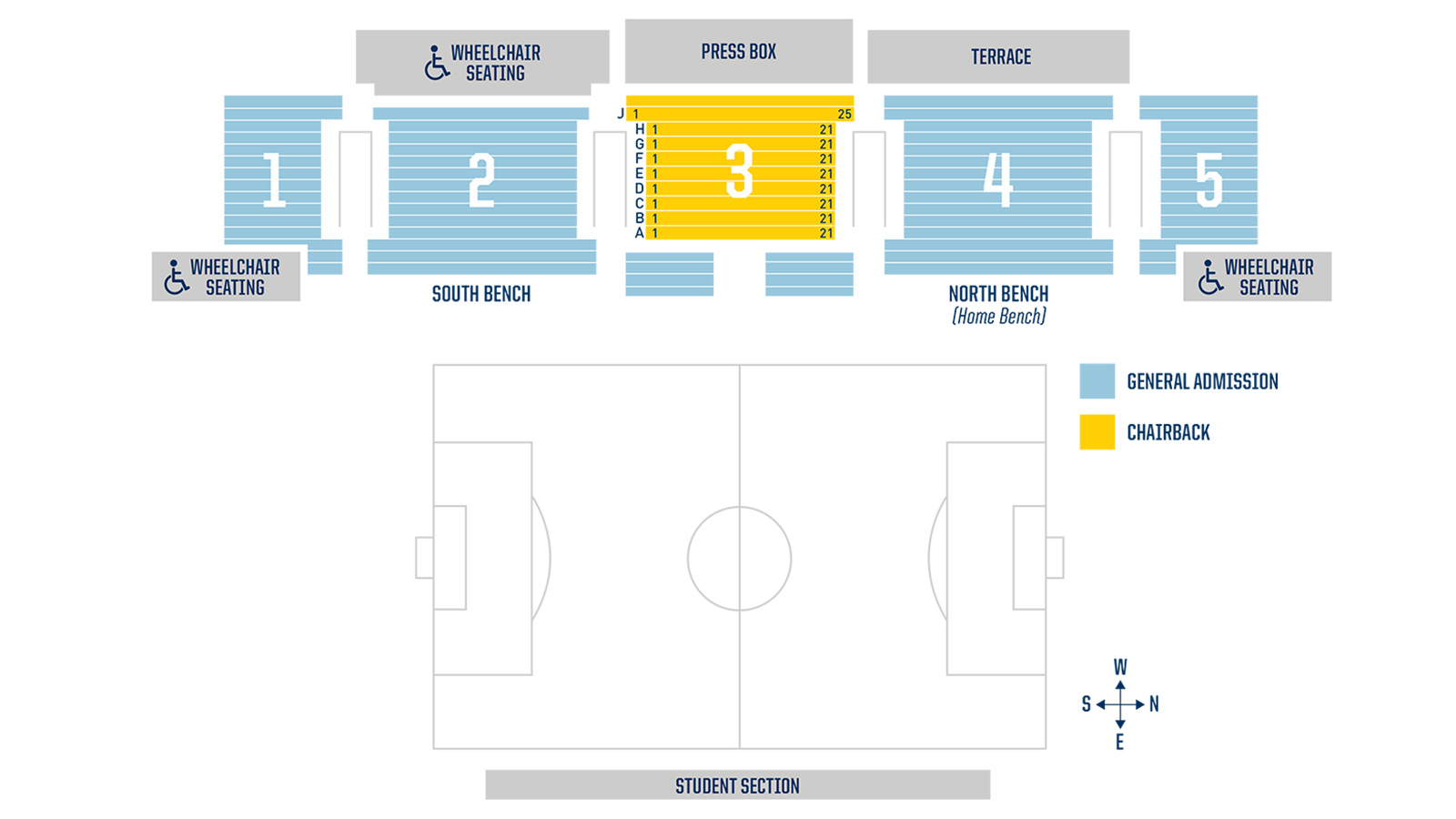 best loved a948c bf4da U-M Soccer Stadium Seating Chart