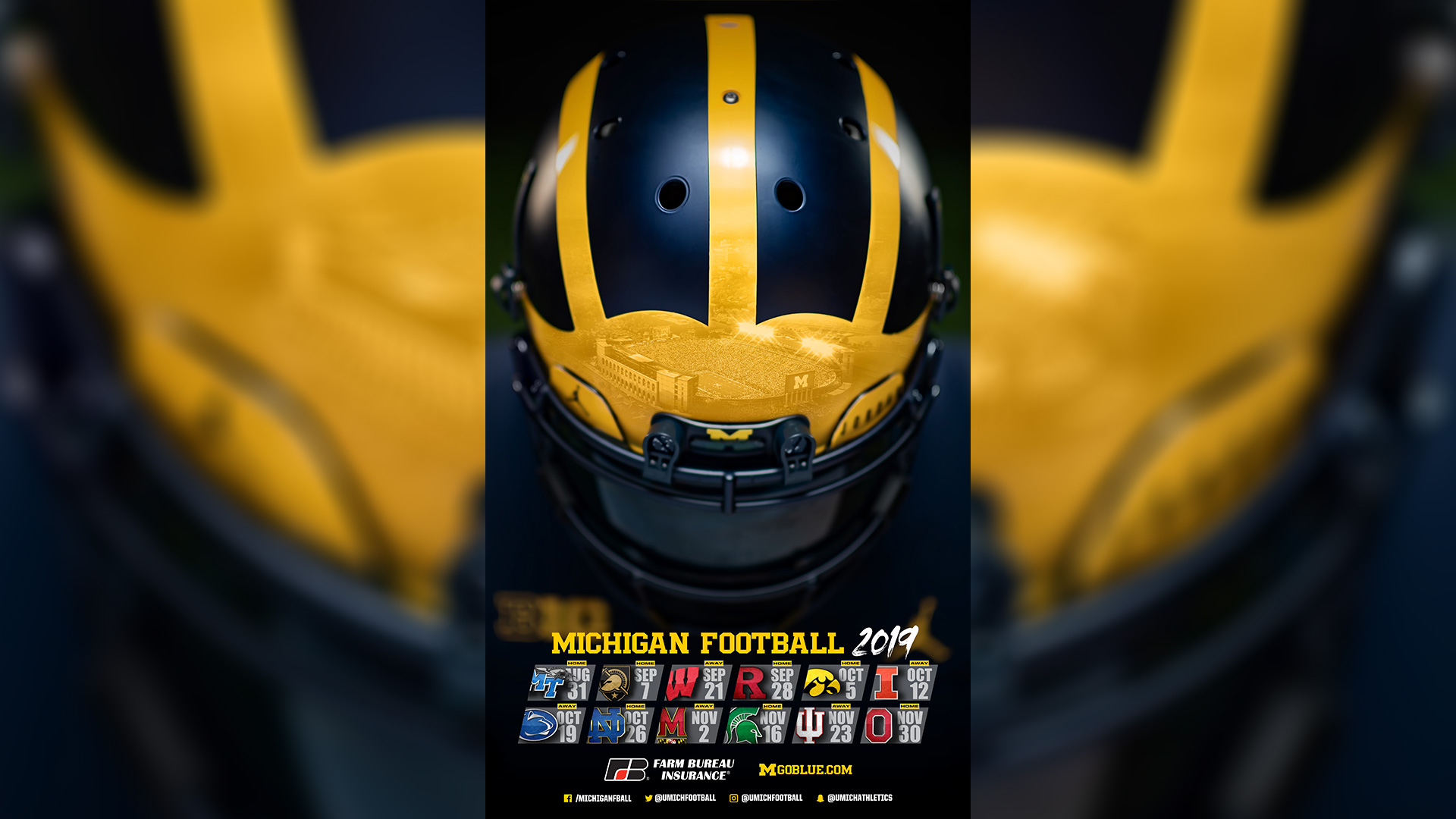 Michigan Athletics Sport Posters University Of Michigan