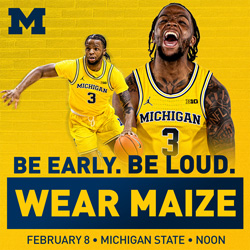 2019 20 Michigan Men S Basketball Promotions University Of