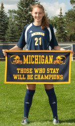 Hein Determined To Win Another Battle University Of Michigan Athletics