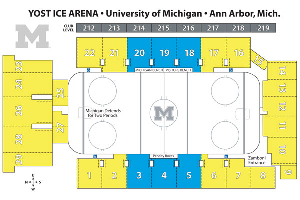 Image result for yost seating chart