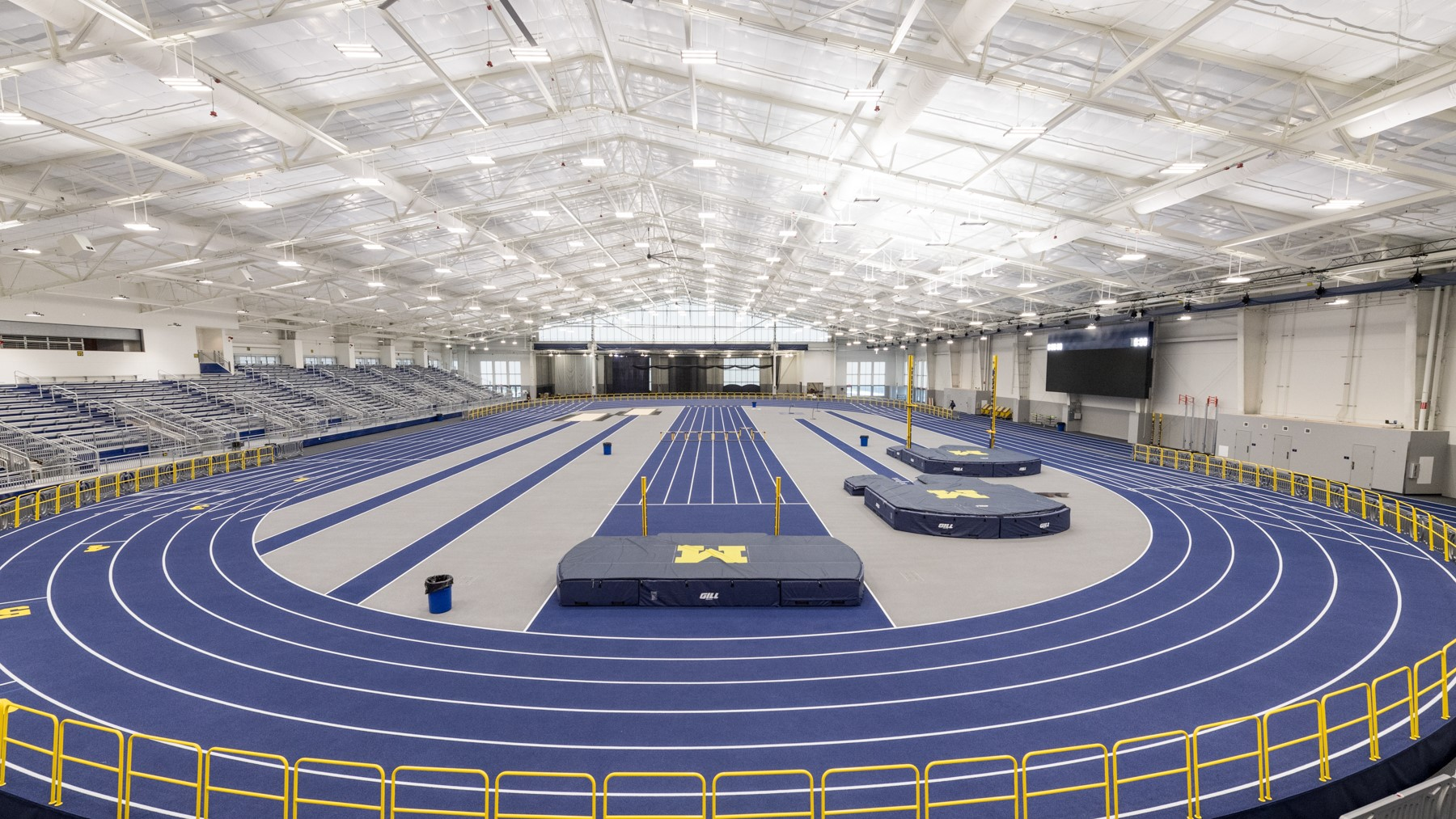 Us Track And Field Map Michigan Track and Field Facilities   University of Michigan Athletics Us Track And Field Map