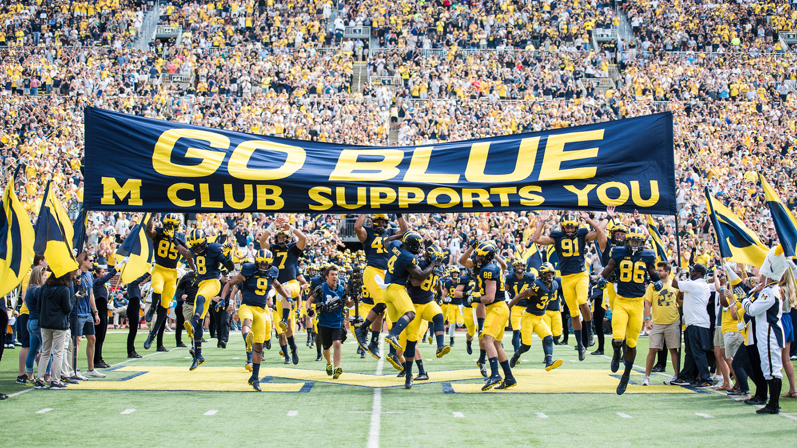 Michigan Football Archive University Of Michigan Athletics