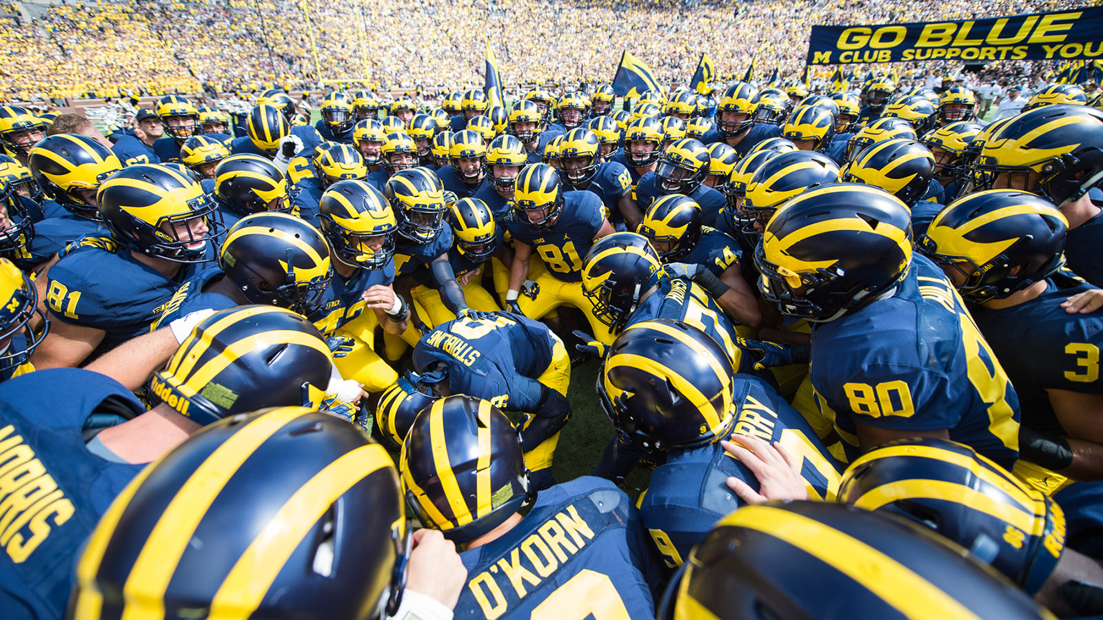 54cd236b693 Michigan Football Traditions - University of Michigan Athletics