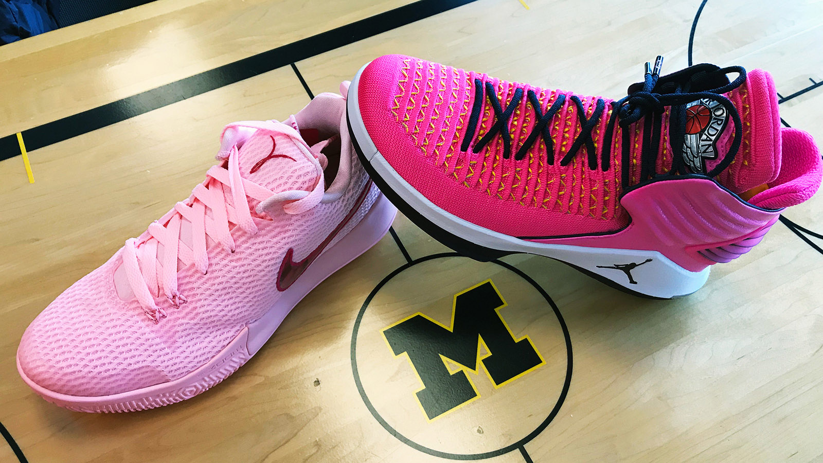 Michigan to Host Purdue in Annual 'Pink Game'