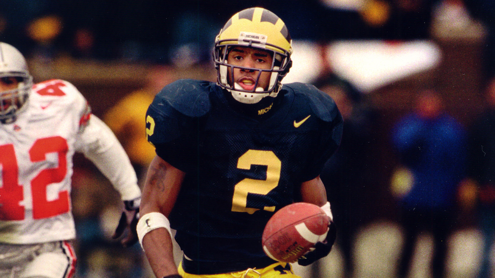 the latest 1b6df 6acdd Charles Woodson Named to College Football Hall of Fame ...