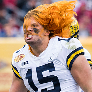 Winovich On His Hair Being Relentless And What Makes Him Most Proud University Of Michigan Athletics