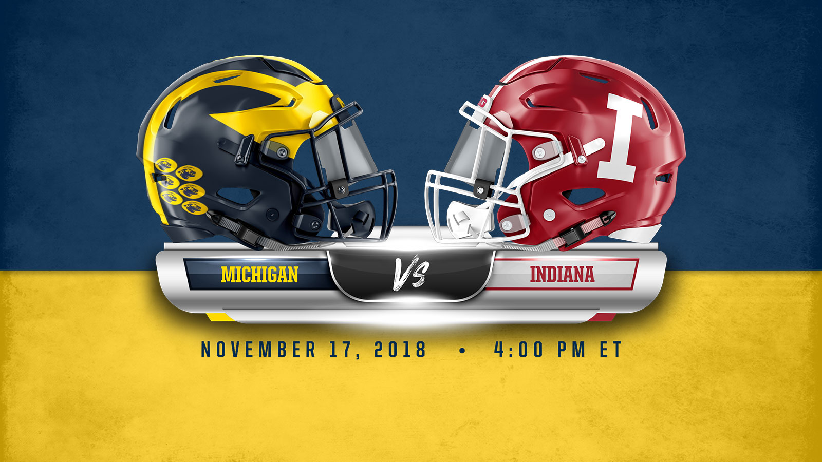 Michigan Monday Game 11 Vs Indiana University Of