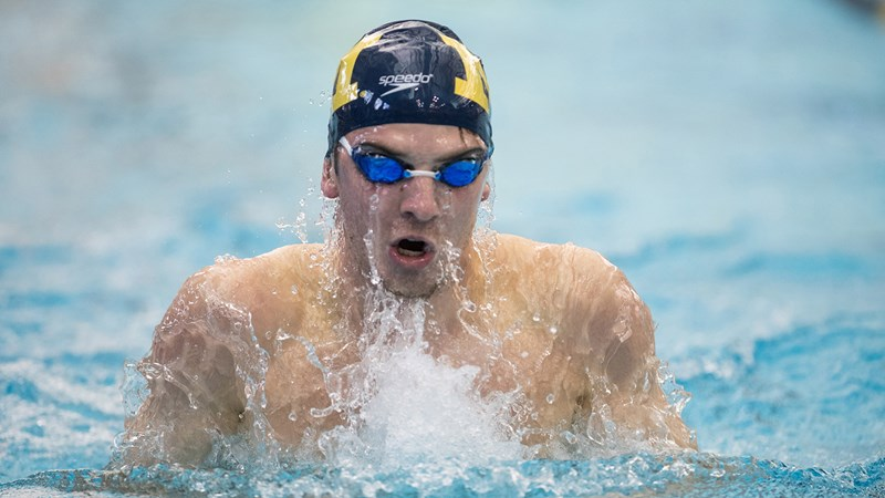 Men's Swimmers Swanson, Vargas Win Medals at Pan-Am Games