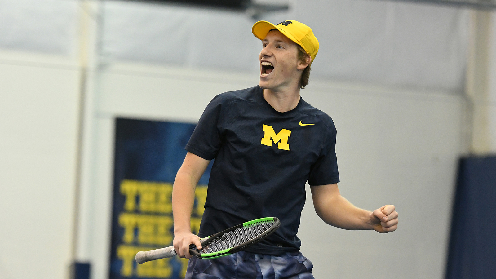 Wolverines Sweep Spartans to Open Conference Play
