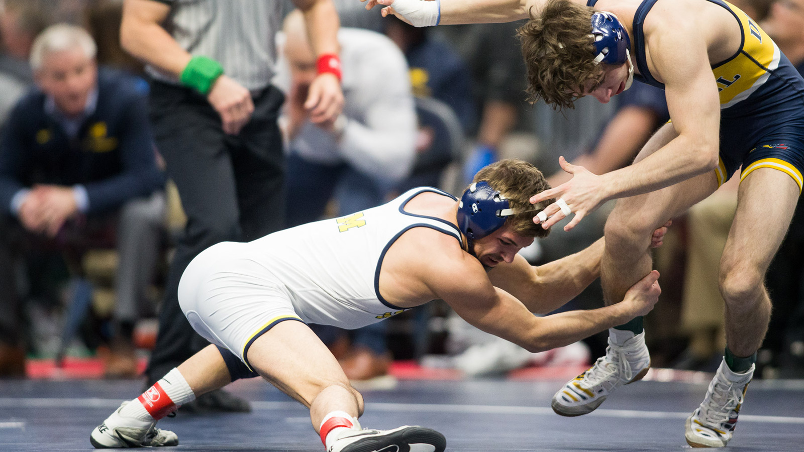 save off 6d7ac c0321 Micic, Coon Advance to NCAA Championship Round  U-M Secures Five  All-Americans
