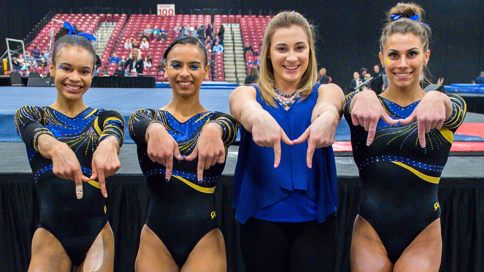 a678f0bd7c2c Q&A with Team 42's Four Seniors - University of Michigan Athletics