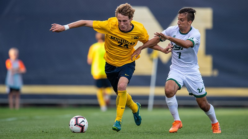 Men's Soccer Continues Homestand with UC Riverside, Canisius - University of Michigan