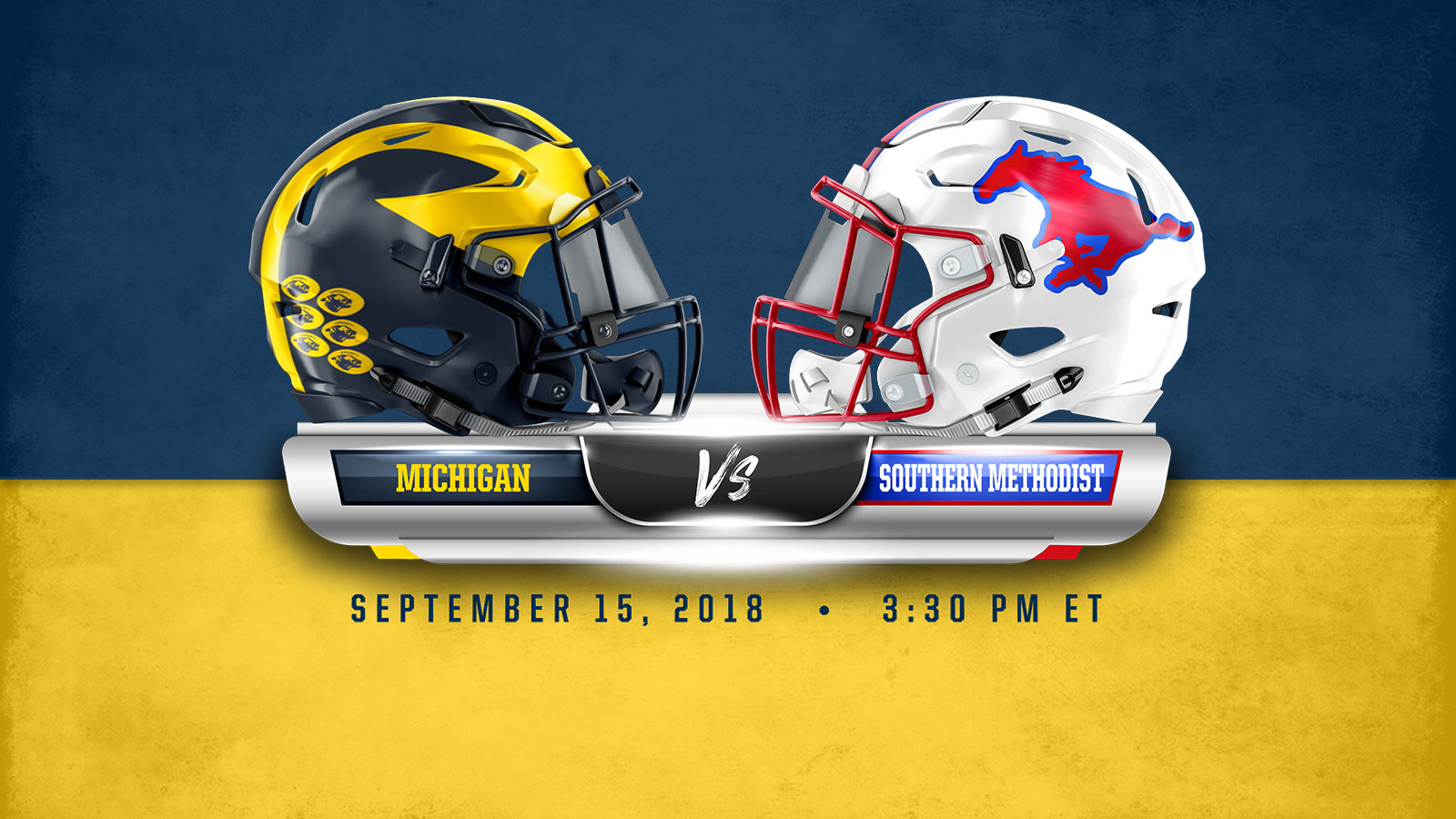 Michigan Monday  Game 3 vs. Southern Methodist - University of ... b6f61f182