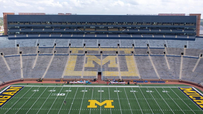 02ca434164eb15 First of Michigan s Public Practices Slated for April 6 at Michigan Stadium  - University of Michigan Athletics