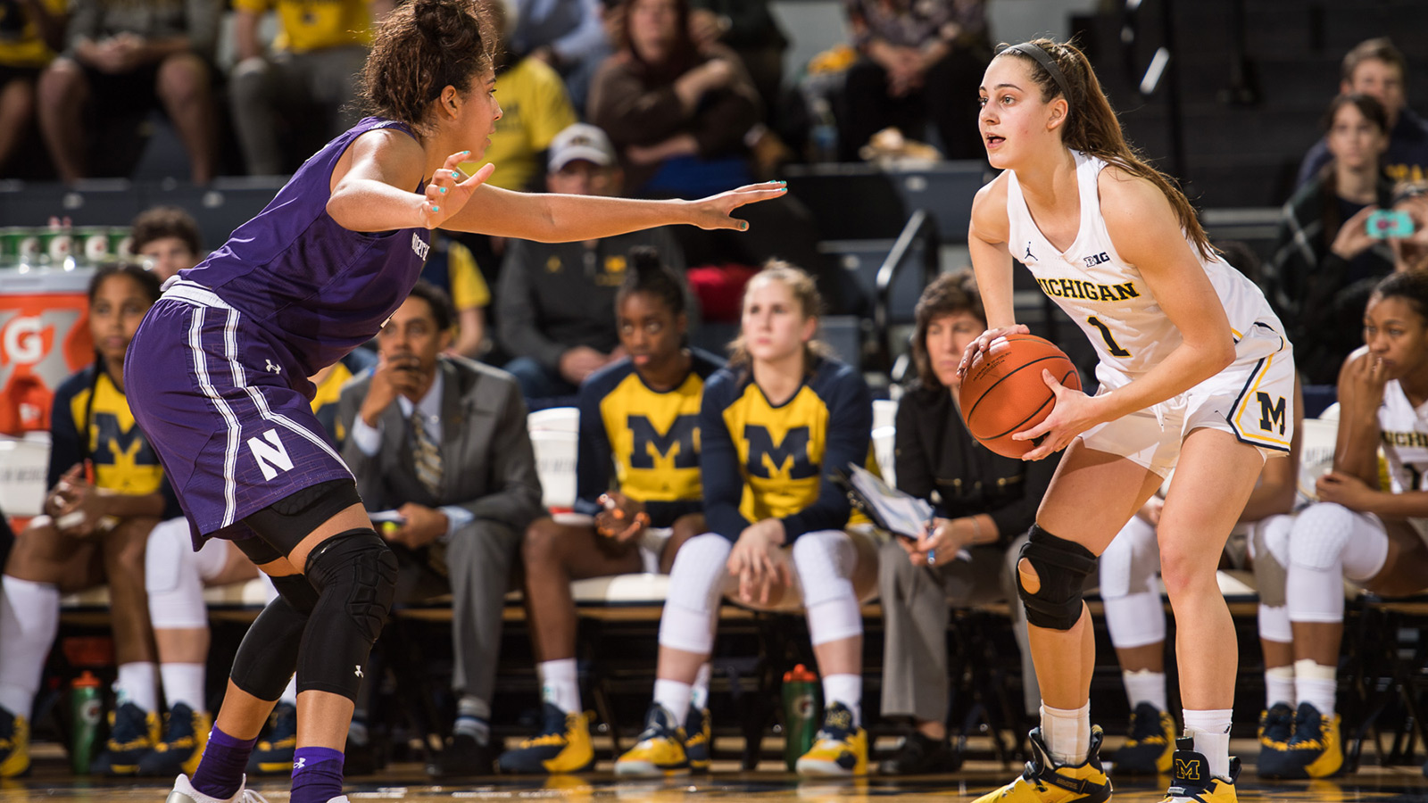 c8081435a002fe Wolverines Grind Out Overtime Win Over Wildcats - University of ...