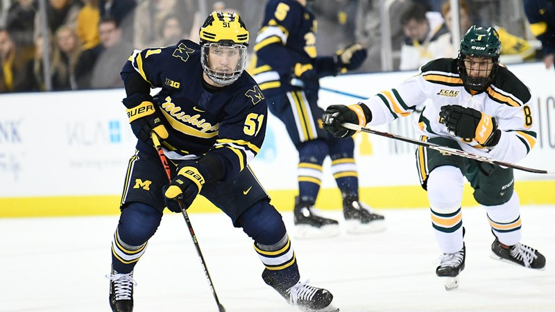 Wolverines Tie No. 11 Clarkson in Season Opener at Yost