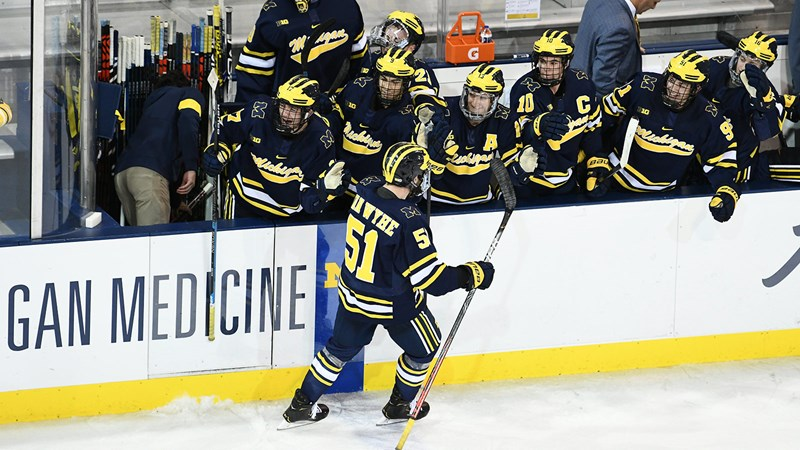 Michigan to Host Lake Superior State in Weekend Series