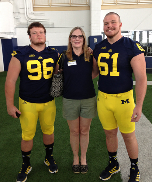 Glasgow Football Journey at Michigan Has Been a Family Affair ...