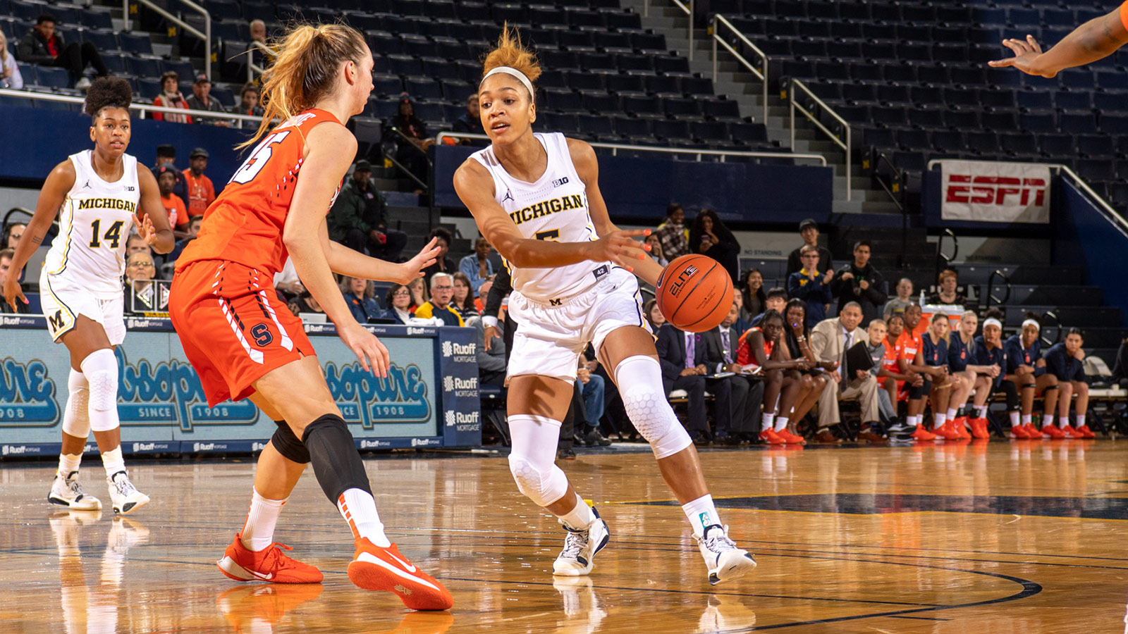 Wolverines Rally For Ot Win Against Syracuse University Of
