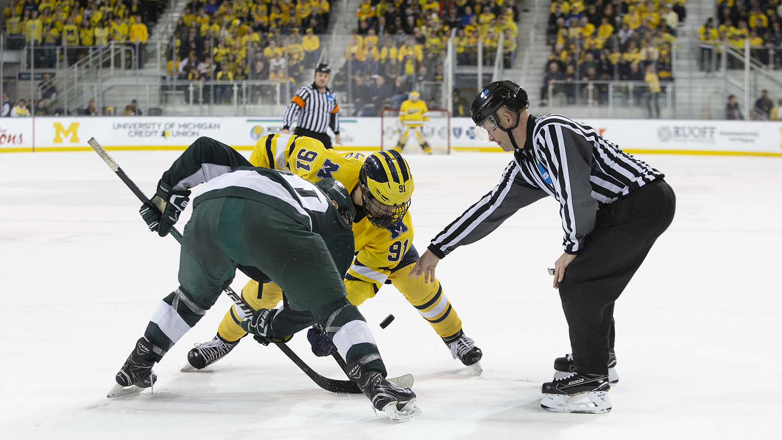 85a3057be1b Michigan Set for Rivalry Weekend Series with Michigan State ...