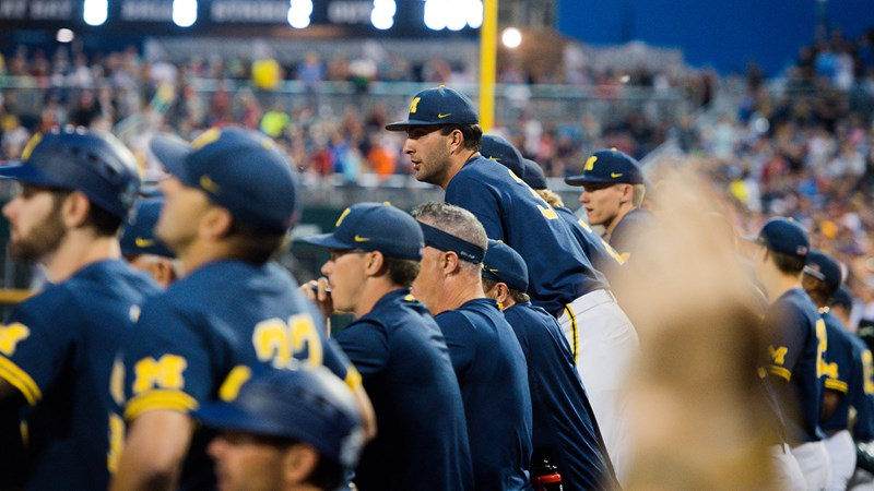 Michigan to Face No. 8 Texas Tech for Berth in CWS Finals