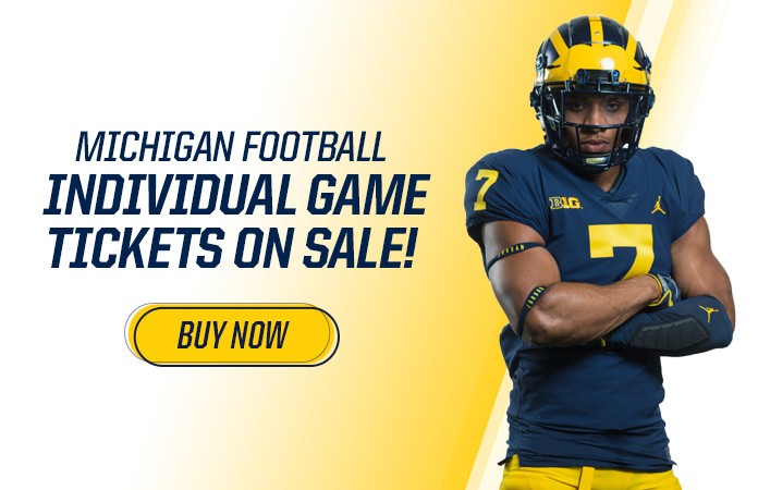 quality design f181c d86b8 Football Tickets - University of Michigan Athletics