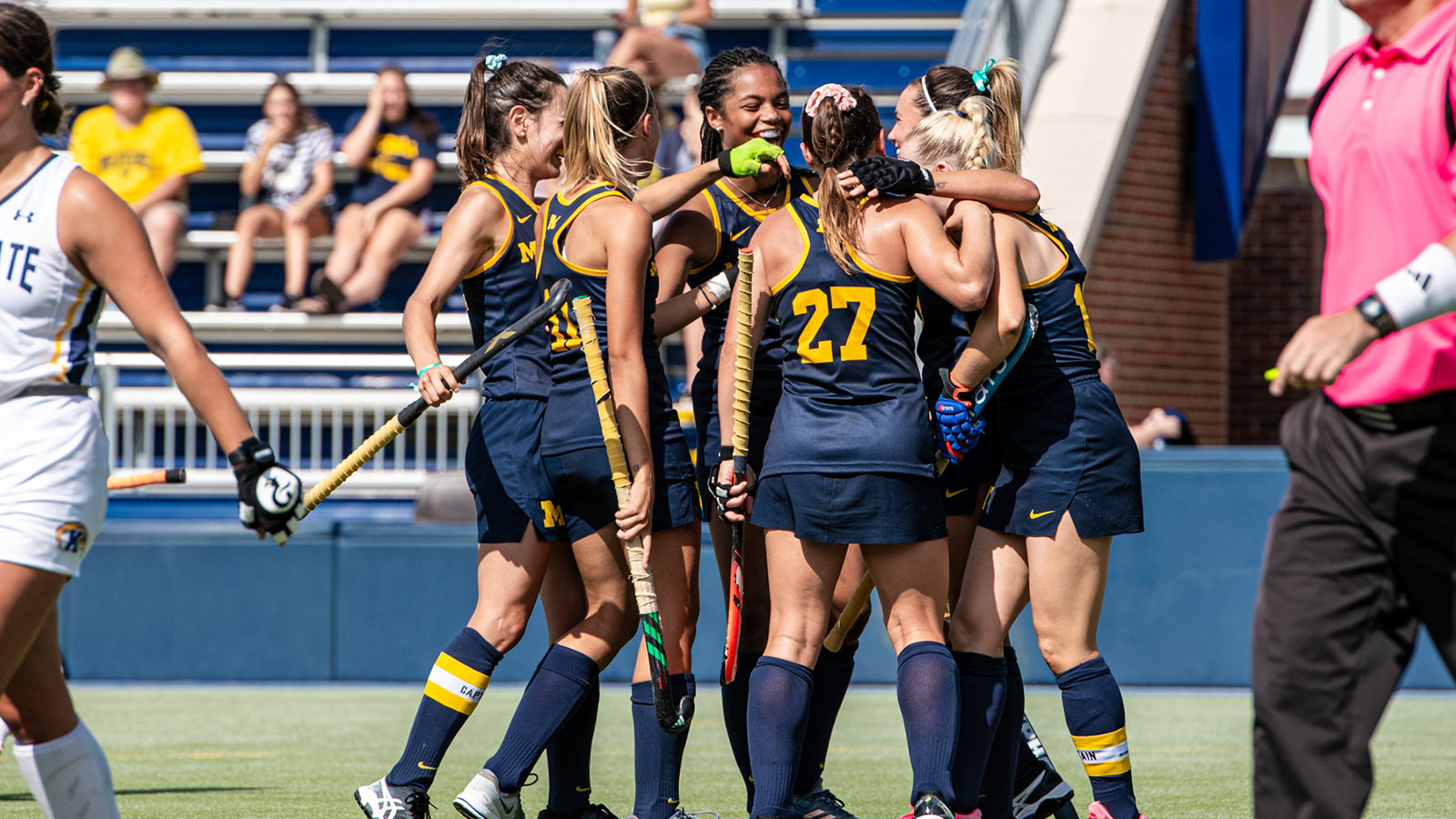 buy popular a7842 1bc30 Reed Scores Two as Wolverines Shut Out Kent State ...