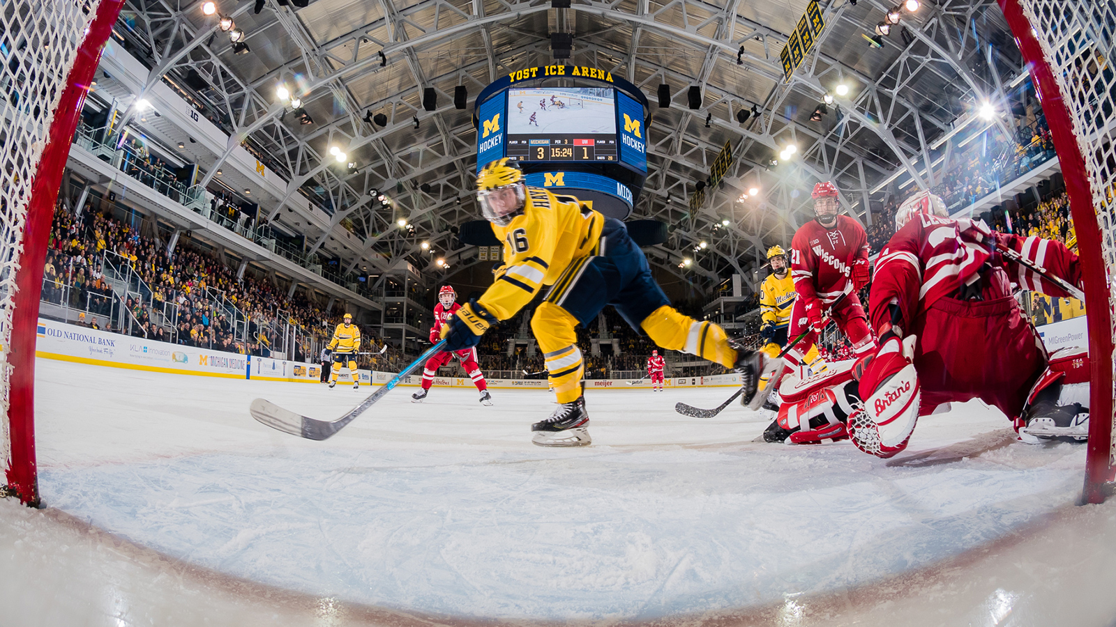 Michigan Finishes Sweep of Badgers Behind Solid Offensive Showing -  University of Michigan Athletics